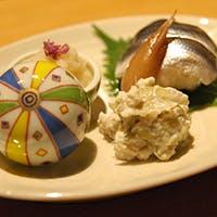 日本料理の奥深さを知る、季節のお料理