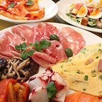 南イタリアから毎週直輸入される新鮮な食材を使用したこだわりのお料理