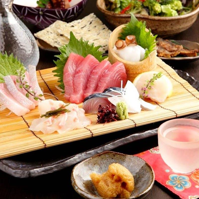 【楓~かえで~】食前酒含む 名物の釜飯など全6品