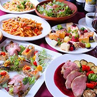 繊細かつ美しいイタリア料理の数々