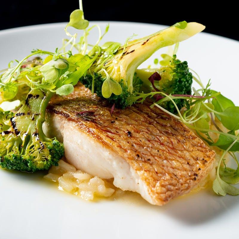 【ランチブッフェ】鮮魚のグリル+前菜、スープ、デザートはお好きなだけ+選べる1ドリンク