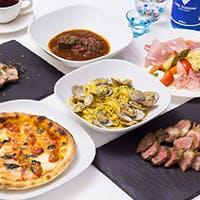 新潟県産の新鮮食材を使用した料理の数々