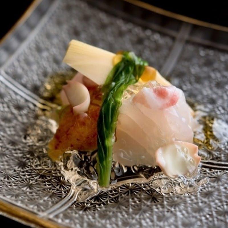 【おまかせコース】椀物、お刺身、旬魚の逸品など