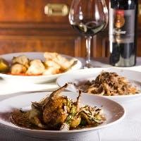 伝統的なイタリアの地方料理をお愉しみいただけます