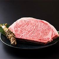 由緒正しき宮崎牛の鉄板焼きステーキ