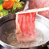 極上の宮崎牛をすき焼きやしゃぶしゃぶで堪能
