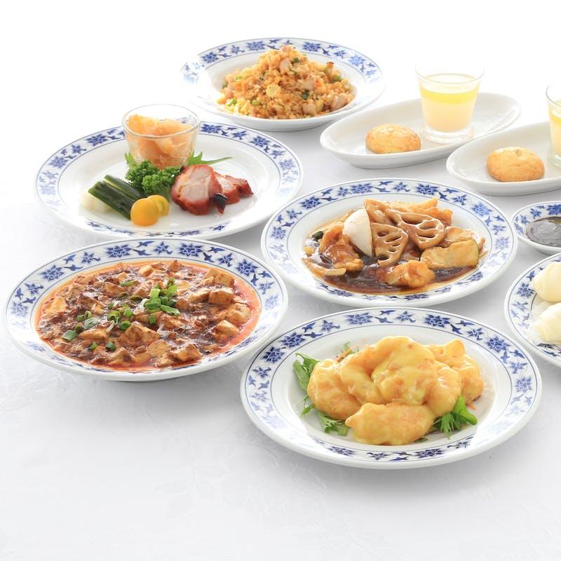 【珊瑚】麻婆豆腐やチャーハンなど全8品