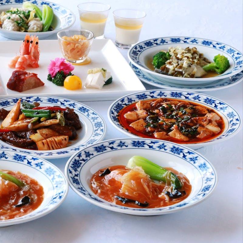 【四川】正宗麻婆豆腐など本格四川料理 全9品+1ドリンク