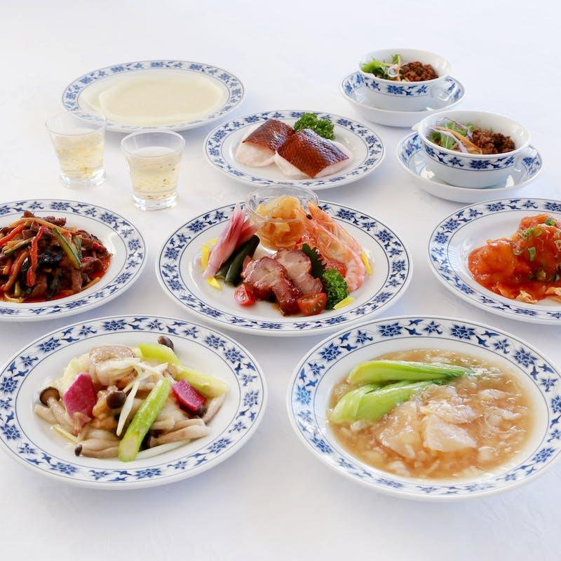 アニバーサリープラン【水晶】+スパークリングワイン+正宗麻婆豆腐+北京ダック+ケーキ+コーヒー付