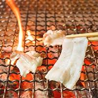 関東では珍しい焼きふぐをご堪能下さい。