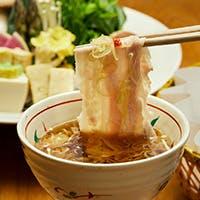 食通達を唸らせる名物「出汁しゃぶ」・すき焼き・本格京会席でおもてなし
