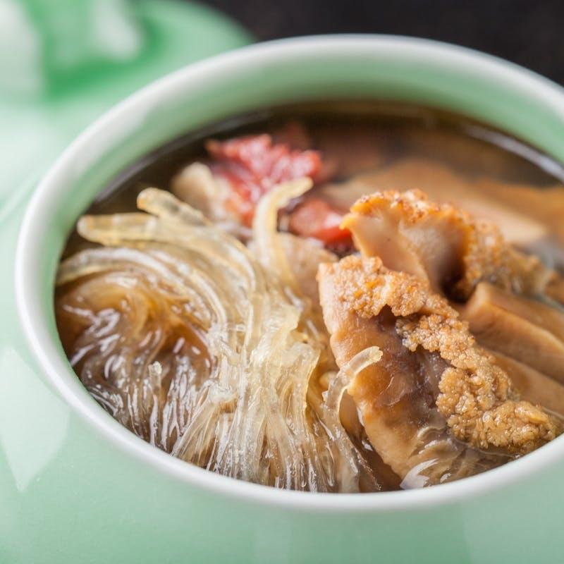 【おまかせコース】全10品(佛跳墻(ファッテューチョン)スープへ変更)