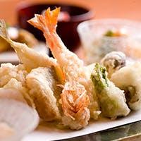 厳選食材のみを使用した日本料理と天婦羅
