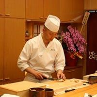 寿司歴26年の板長のこだわり鮨