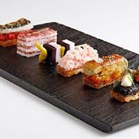 日本の四季の食材と伝統的なスペイン料理の融合