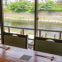 京都東山の全景を臨む