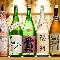 焼き鳥 貴の楽しみは日本酒にあり