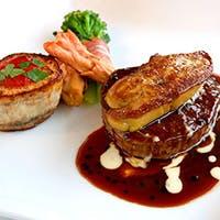 ワゴンサービスと食材の旨味を最大限に生かす技術、素材の美味しさをストレートに表現