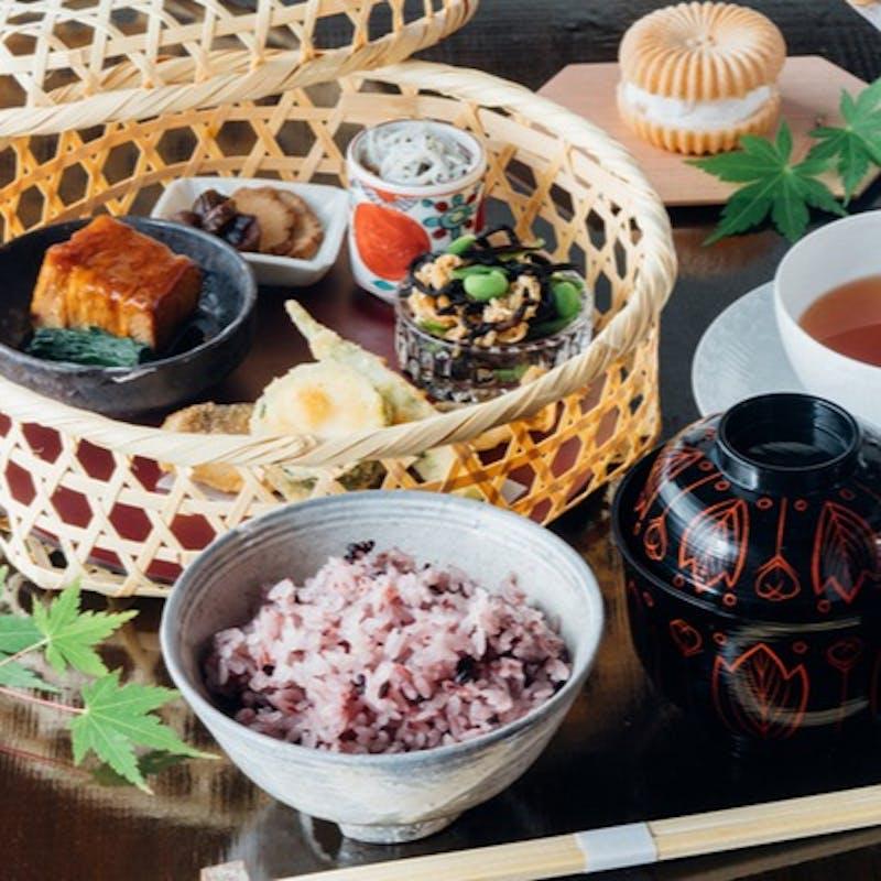 【一休限定 茶房膳コース】季節の食材を盛り込んだおまかせ和食を堪能+乾杯ドリンク付き