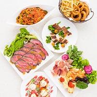 シェフ厳選の食材を使用した当店限定のお料理の数々