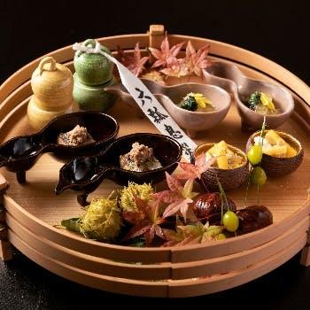 【昼会席】焼き物や八寸、厳選食材など 全8品