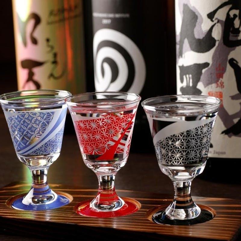 ご接待に人気!神保町で季節の高級食材と愉しむ!全9品「和食日和会席」+おすすめ「日本酒3種セット」
