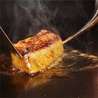 素材そのものの美味しさを味わえる鉄板焼き