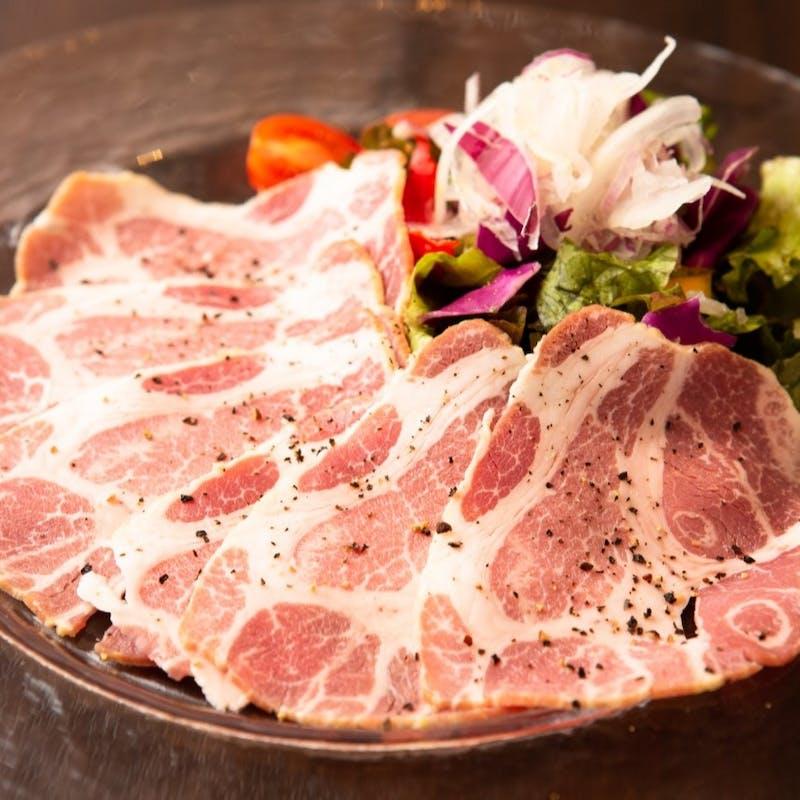 【5,000円コース】ホホ肉の和風煮込み、イベリコ豚のしゃぶしゃぶなど 全5品