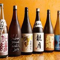 日本酒を愛するSAKEソムリエ厳選のラインナップ