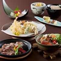 季節の食材を使用した和のお料理をお楽しみください