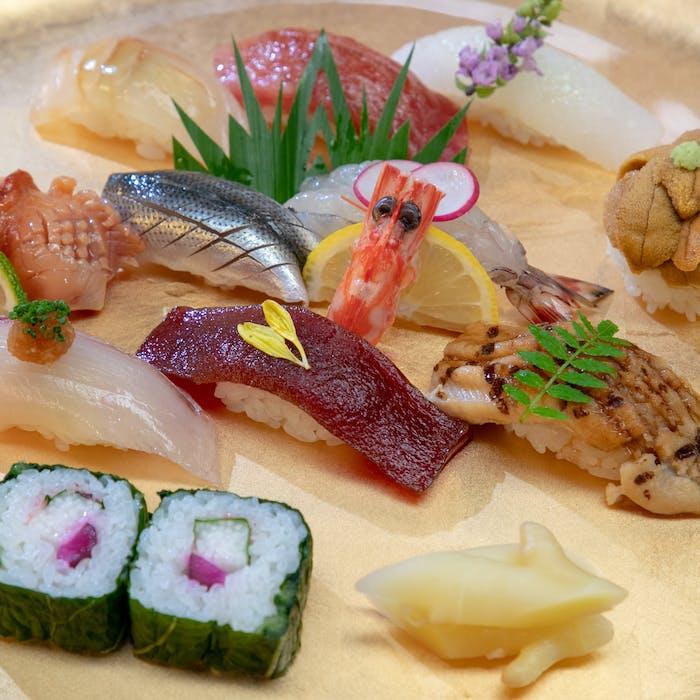 寿司 10 貫
