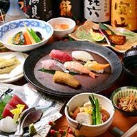 厳選したネタから生まれる極上の握り寿司