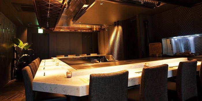 記念日におすすめのレストラン・渋谷 鉄板焼 ORCAの写真1