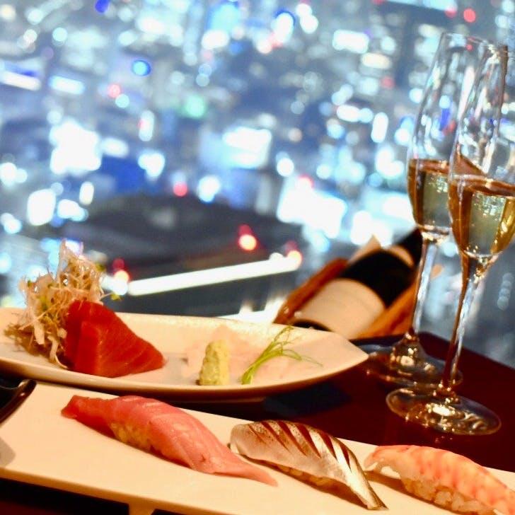 寿司とワインのマリアージュ