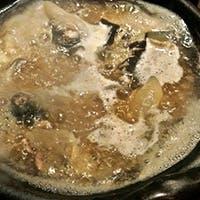 自慢のすっぽんの丸鍋