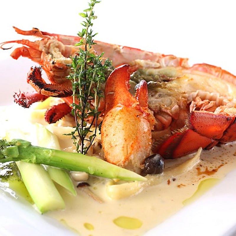 【カイザーランチ】オマール海老、お肉料理など全7品(週末、祝日限定)