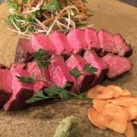 鉄板で和牛、鮮魚、旬菜それぞれの良さをご堪能