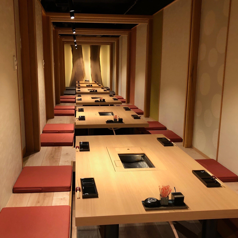 東急東横・目黒線沿線での宴会やご接待に最適な個室