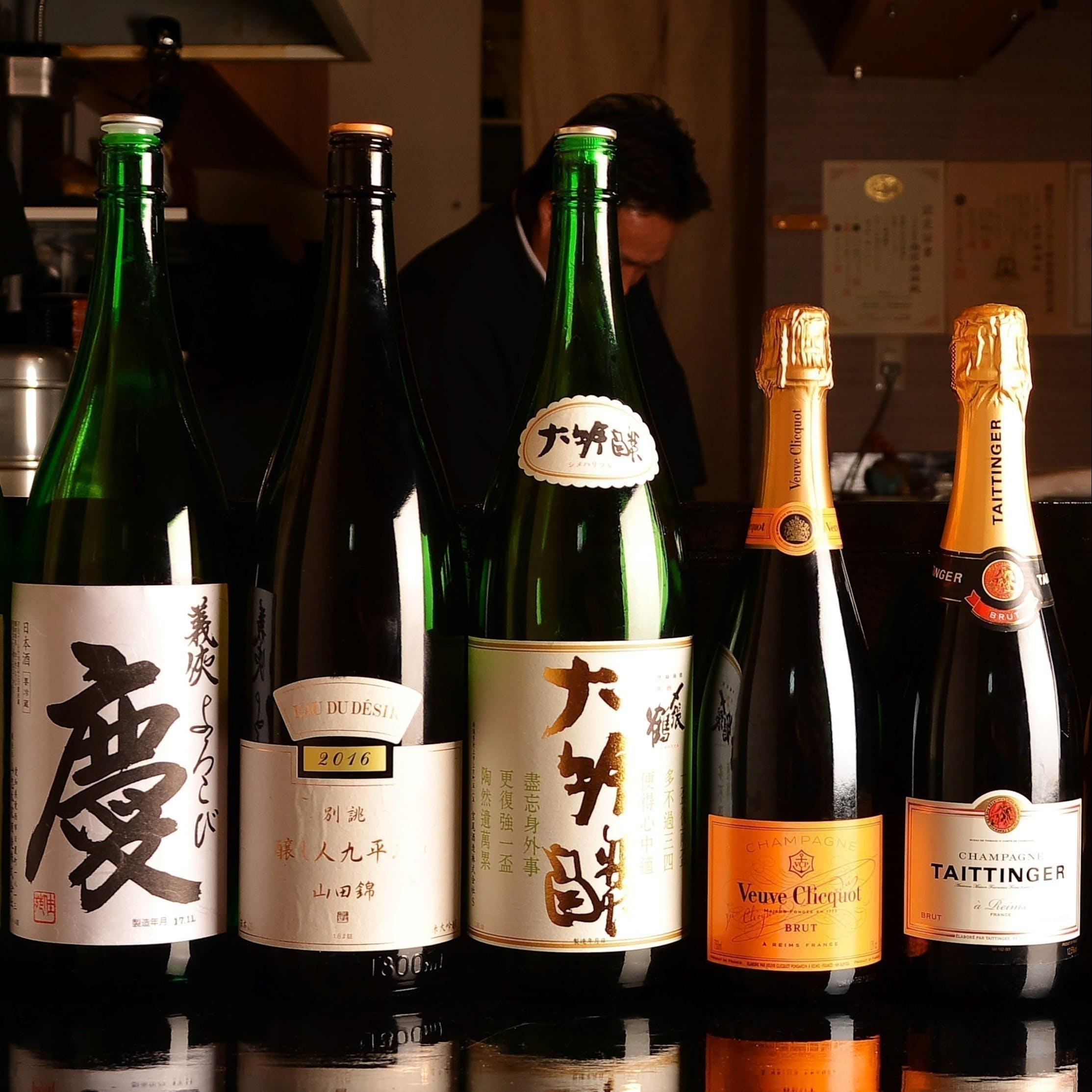天ぷらと美酒のマリアージュ