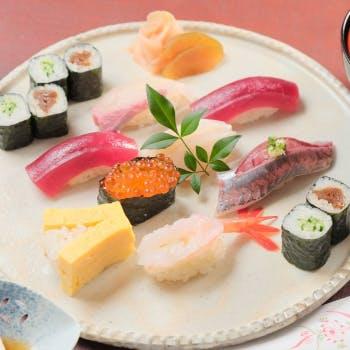 期間限定【1日限定2組】寿司盛り合わせorちらし寿司が選べる!25階の高層階で楽しむ贅沢ランチ