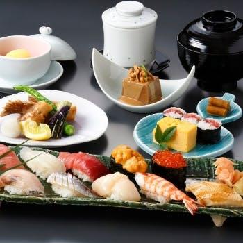 【1日限定2組】25階の高層階で眺望と寿司を楽しむカップルプラン!