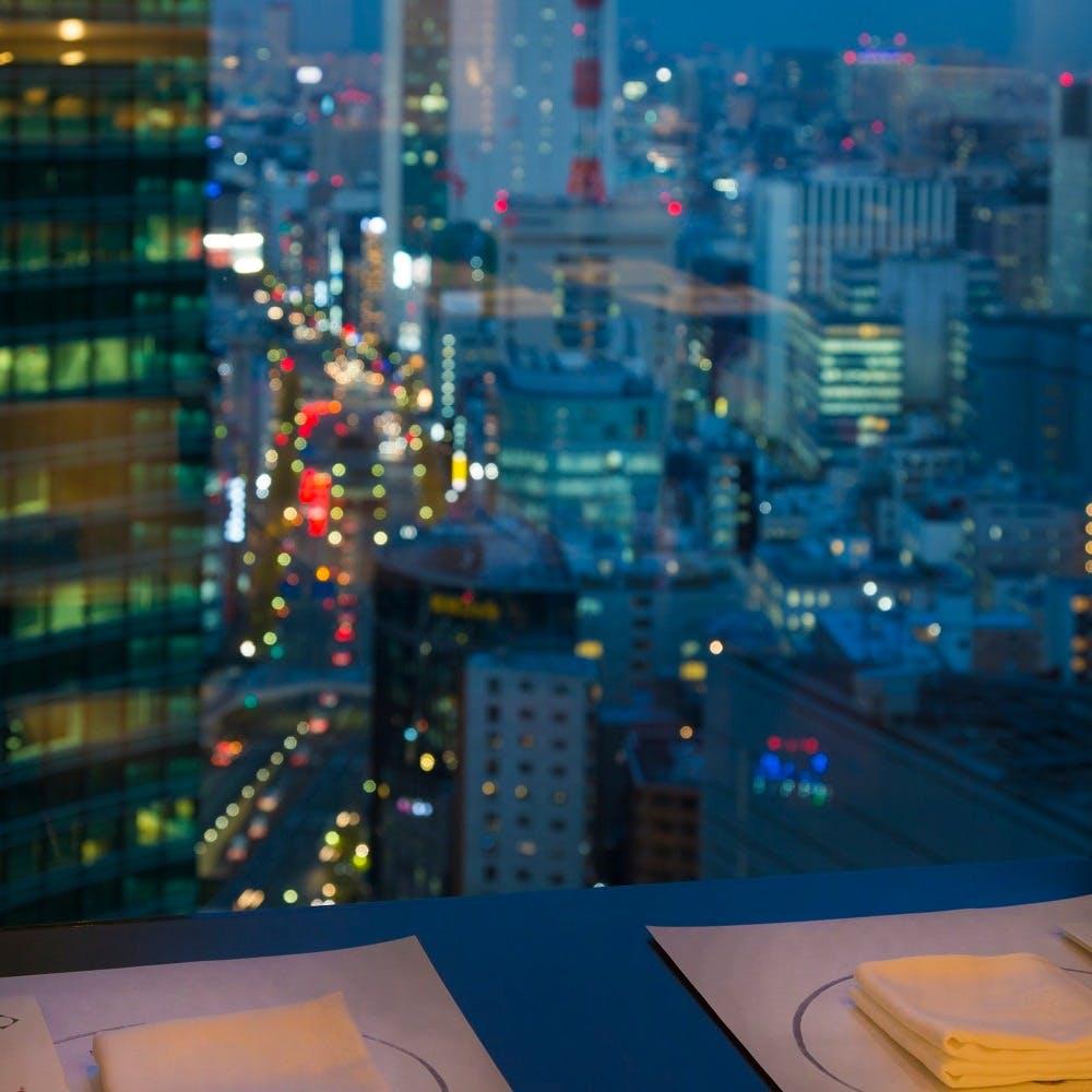汐サイトエリアを一望「ザ ロイヤルパークホテル アイコニック 東京汐留」25階