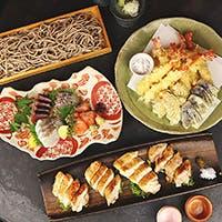 和食職人が旬の食材を使用して作るお料理とともに、国酒の奥深さをお愉しみください