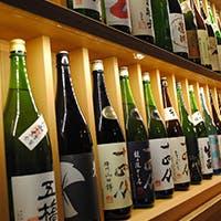 100種類以上揃えた日本酒を11段階の温度飲みで愉しむ