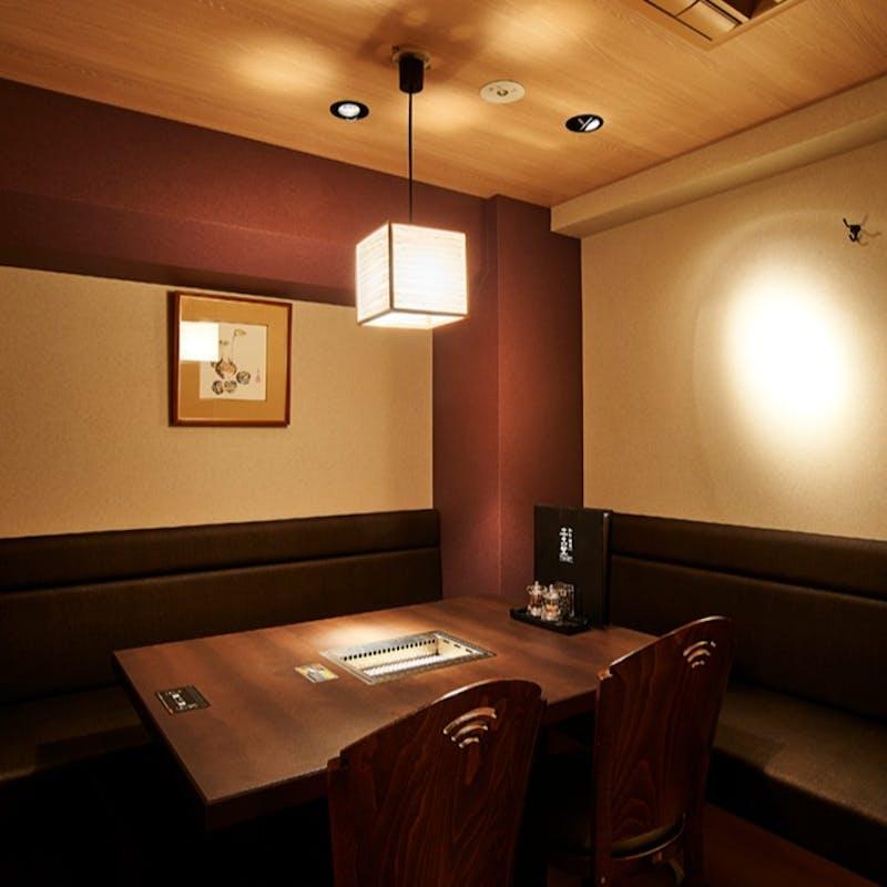 【牡丹 御膳】牛タン・カルビ・ハラミの盛合せ御膳 ソフトドリンク付
