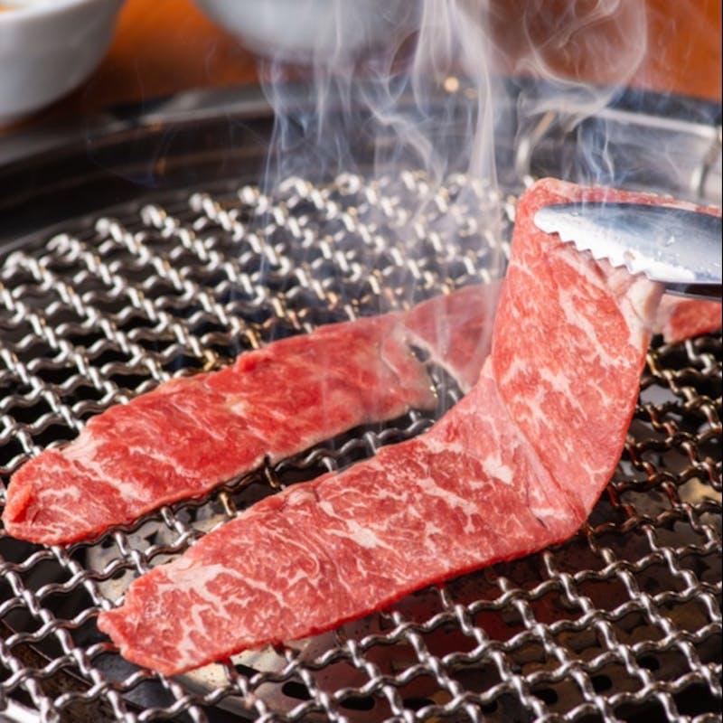【焼肉三昧コース】黒毛和牛と旬野菜を楽しむお得なプラン全9品