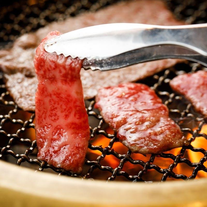 【焼肉食べ放題コース】牛タン、ハラミ、国産ホルモンなど全78種食べ放題
