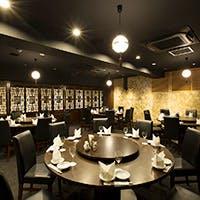 上海レトロな装い 大切な会食の場に
