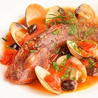 厳選食材を使用した本格南イタリア料理