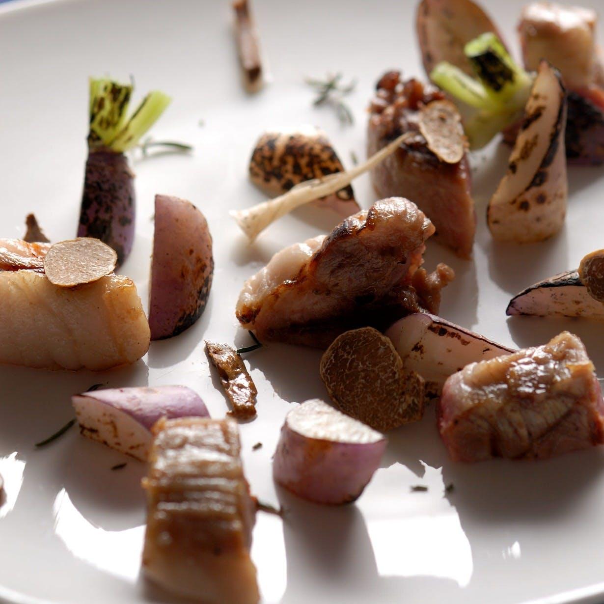 広島と山形の食材をふんだんに使った奥田流イタリアン